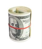 Dinheiro no rolo Foto de Stock