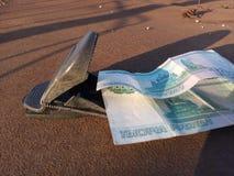 Dinheiro, notas de papel, fraude, armadilha, decepção, lucro, fraude, ratoeira, roedor que trava, dinheiro fácil fotografia de stock royalty free