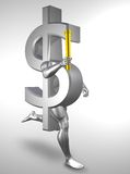 Dinheiro olímpico ilustração do vetor