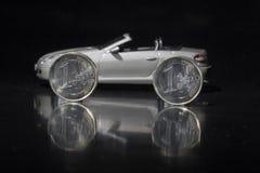 Dinheiro para o carro Imagem de Stock Royalty Free