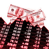 Dinheiro perdedor Fotografia de Stock