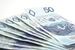 Dinheiro polonês Foto de Stock