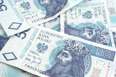 Dinheiro polonês Imagens de Stock Royalty Free