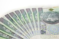 Dinheiro polonês Imagens de Stock