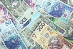 Dinheiro polonês Fotos de Stock