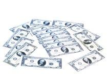 Dinheiro preguiçoso Fotos de Stock Royalty Free