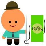 Dinheiro salvar Foto de Stock Royalty Free