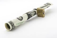 Dinheiro seguro Fotografia de Stock