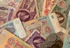 Dinheiro soviético fotografia de stock royalty free