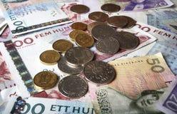 Dinheiro sueco Imagens de Stock