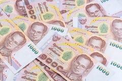 Dinheiro tailandês Imagens de Stock