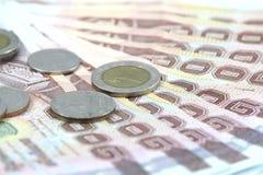 Dinheiro tailandês Imagem de Stock