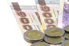 Dinheiro tailandês Imagens de Stock Royalty Free