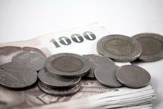 Dinheiro tailandês Foto de Stock