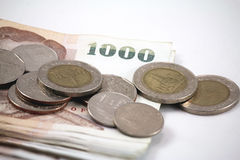 Dinheiro tailandês Foto de Stock Royalty Free