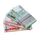 Dinheiro tailandês Fotos de Stock Royalty Free