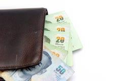 Dinheiro tailandês Fotografia de Stock