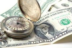 Dinheiro-tempo Imagem de Stock Royalty Free