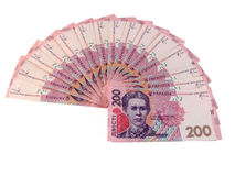 Dinheiro ucraniano Fotos de Stock