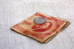 Dinheiro velho Foto de Stock Royalty Free
