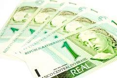 Dinheiro velho brasileiro Foto de Stock Royalty Free