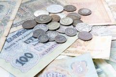 Dinheiro velho de URSS Matroshka rubles Fotografia de Stock Royalty Free