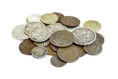 Dinheiro velho de URSS Matroshka rubles Foto de Stock Royalty Free