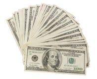 Dinheiro ventilado Imagens de Stock