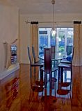 Dining Area. In UK home stock image