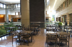 Dining area of a Hotel lobby Stock Image