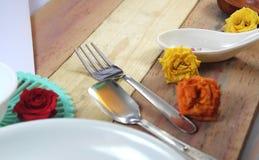 Dining background Royalty Free Stock Image