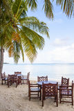 Dining at the beach Royalty Free Stock Photo