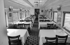 Dining Car, Clifton Forge, VA Royalty Free Stock Photos