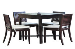 Dining furniture Royalty Free Stock Images