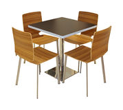 Dining furniture Royalty Free Stock Image