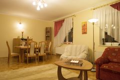 dining home interior living Στοκ Εικόνες