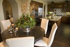 dining home kitchen luxury room Στοκ φωτογραφία με δικαίωμα ελεύθερης χρήσης