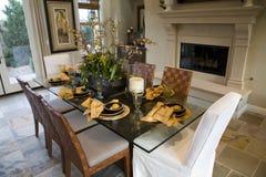 dining home luxury room Στοκ εικόνες με δικαίωμα ελεύθερης χρήσης