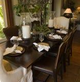 dining home luxury room Στοκ Εικόνες