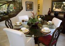 dining home luxury room Στοκ εικόνα με δικαίωμα ελεύθερης χρήσης