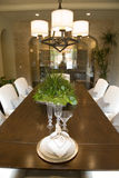 dining home luxury table Στοκ εικόνα με δικαίωμα ελεύθερης χρήσης