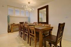 dining luxury room Στοκ Φωτογραφίες