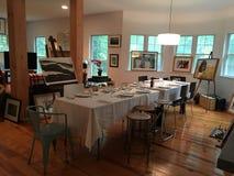 dining modern room Στοκ Εικόνες