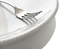 Dining plate royalty free stock images