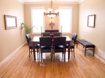 Dining Room 04 royalty free stock photos