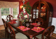 Dining Room Royalty Free Stock Images