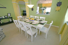 Dining Room. A Dining Room in a House in Florida Royalty Free Stock Photography