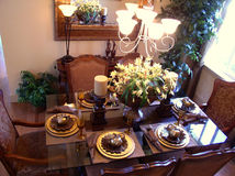 Dining room. In north america Stock Photo