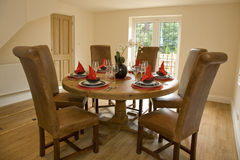 Dining room Stock Image