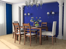 Dining room Royalty Free Stock Photos